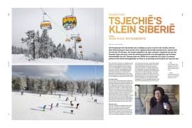 Skireportage in het Tsjechische Erstgebergte voor SNOW