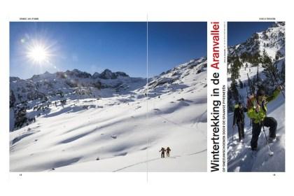 Reportage over sneeuwschoenwandelen in de Aranvallei