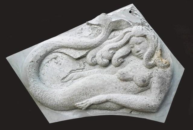 Brick mit Meerjungfrau in der Taille direkten, halb hakproces