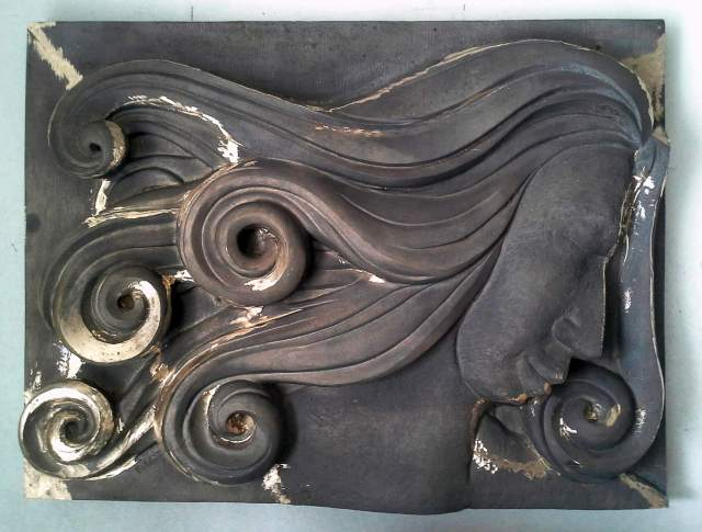 bronze cast embossed Somnia