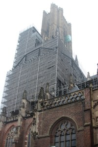 scaffolding visit Eusebius flying buttresses