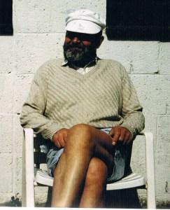 beeldhouwer Jan van Velzen in 1992