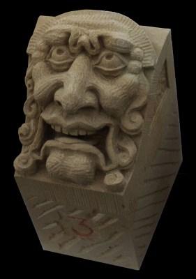 Grotesque in Udelfanger Sandstein, kopie