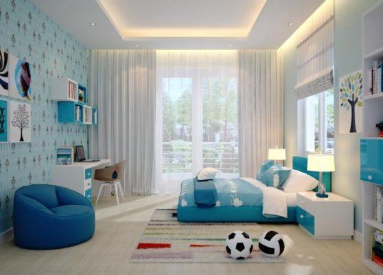 เปลี่ยนห้องนอนด้วยโทนสีฟ้า เพิ่มความสดชื่นสำหรับช่วงเวลาพักผ่อน 1