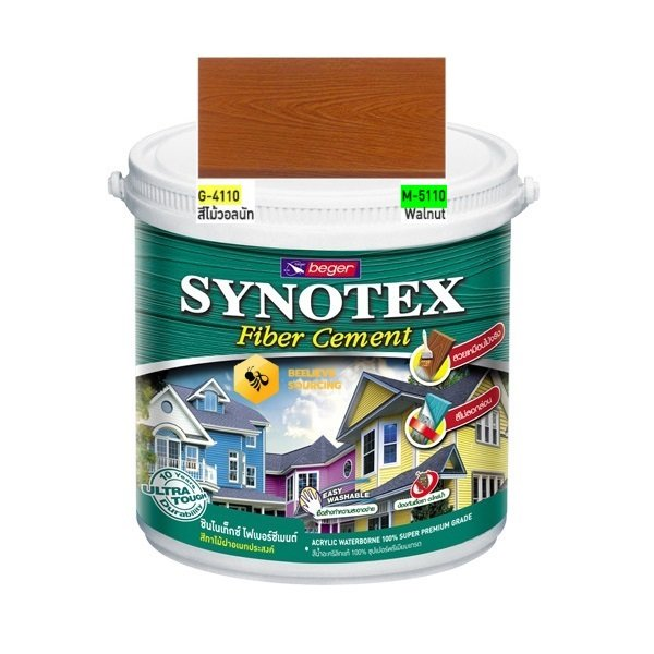 Synotex Fiber Cement Walnut beger