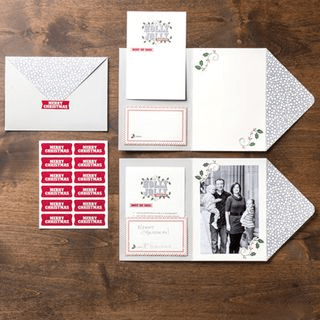 Holly Jolly Greetings Simply Sent Kit