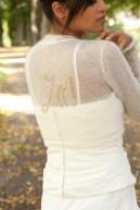 Bolero zum Binden für die Braut
