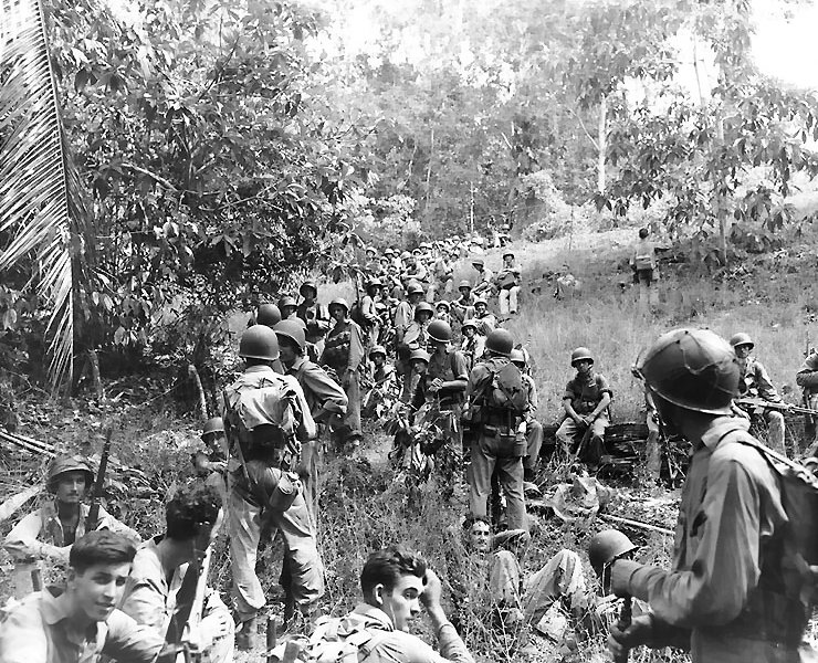 U.S. Marines on Guadalcanal