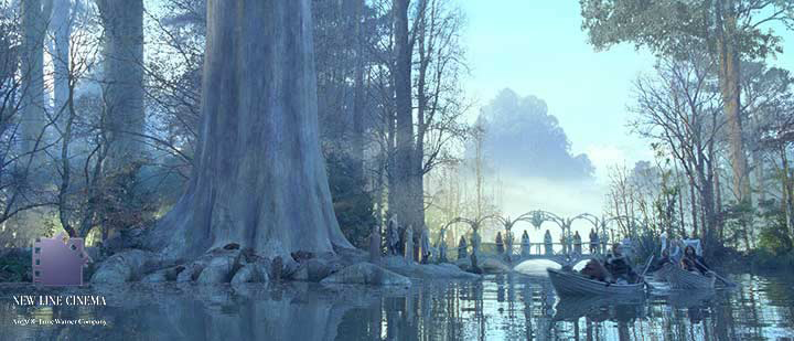 River Anduin and Lothlórien