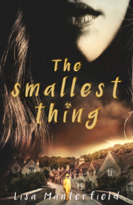 "Book cover for the novel ""The Smallest Thing"""