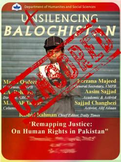 Thumbnail for Balochistan discussion at LUMS cancelled under pressure from 'angels'