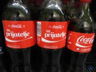 Lubiana - share a coke with a slovenian