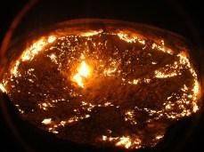 20 - Darvaza - Gas crater (hell's door)