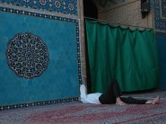 20 - Yazd - Sleeping at the Mosque