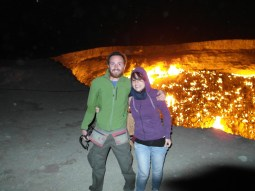 22 - Darvaza - Gas crater (hell's door)