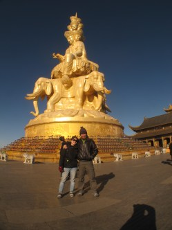 39 - Emei Shan - Golden Summit