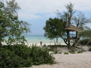 03 - Koh Rong Samloem - view from the bed!