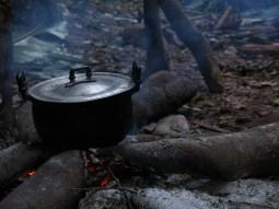 33-Luang Namtha-trekking in the jungle, making dinner