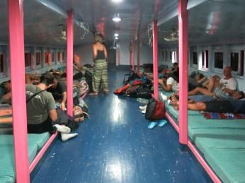 46 - Night boat from Koh Phan Ngan to Suratthani