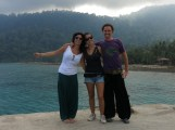 Tioman island - with our lovely Lucia!