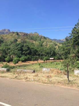Between villages
