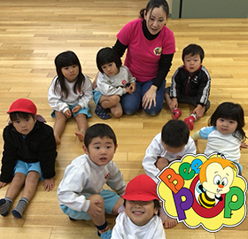 Toddlers Practicing English as a group