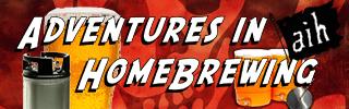 Adventures in Homebrewing Banner