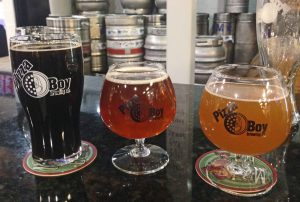 Coffee Stout, Triple IPA and Apricot Lambic - to name a few