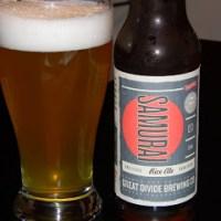 Review of Great Divide Samurai Ale