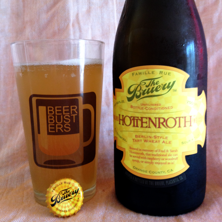 Steph's New Brew Review: The Bruery's Hottenroth