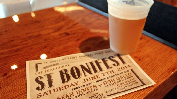 First Annual St. Bonifest at St. Boniface Brewing Company