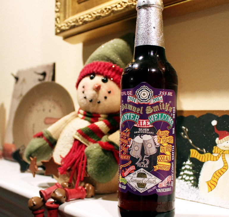 Steph's New Brew Review: Winter Welcome Ale