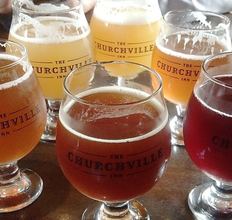 A Philly Beer Week Finale at The Churchville Inn and The Iron Abbey