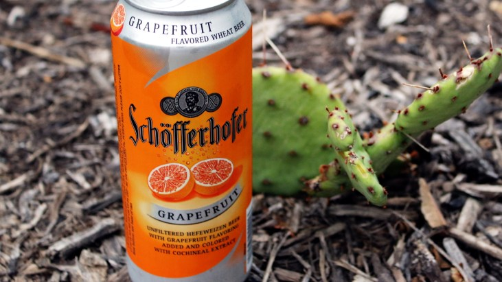 Steph's New Brew Review: Schöfferhofer Grapefruit