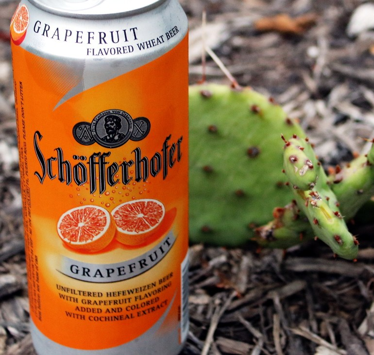 Steph's New Brew Review: Schöfferhofer Grapefruit
