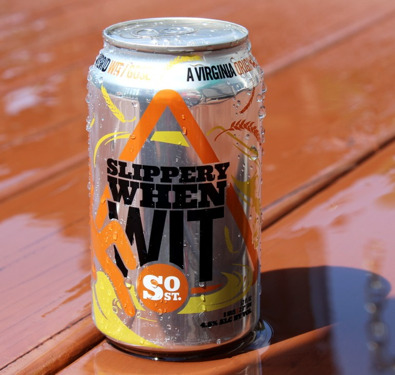 Steph's New Brew Review: Slippery When Wit