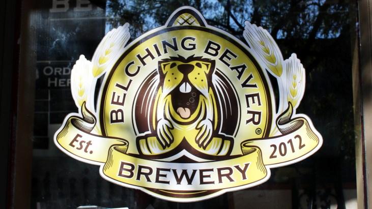 Imbibing Beers at Belching Beaver Brewery