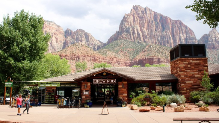 Craft Beer, Gourmet Food and Stunning Vistas at Zion Canyon Brewpub