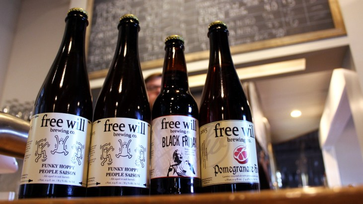 Free Will December Bottle Releases