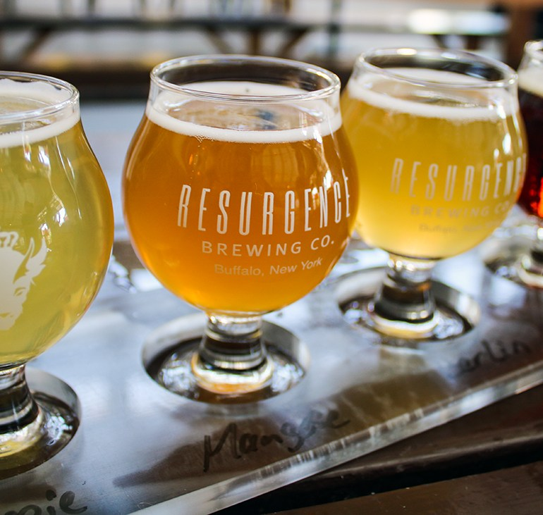 Finding Respite at Resurgence Brewing