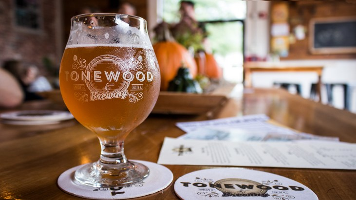 Tonewood Brewing is a Great Stop Just Over the River from Philly