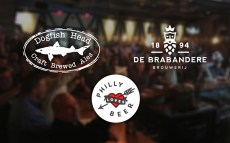 Dogfish Head Headed to Belgium with Philly Loves Beer to Brew 2018 Philly Beer Week Collaboration Beer