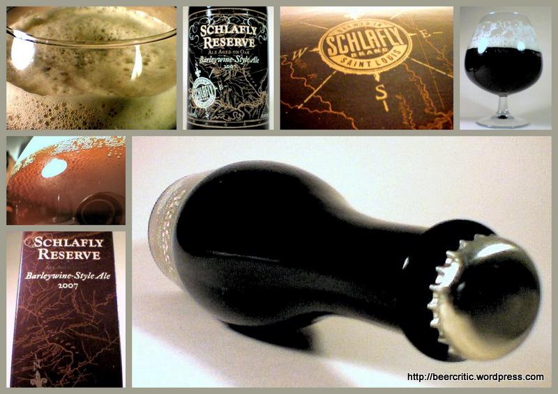 Schlafly Oak Aged Barley Wine Style Ale