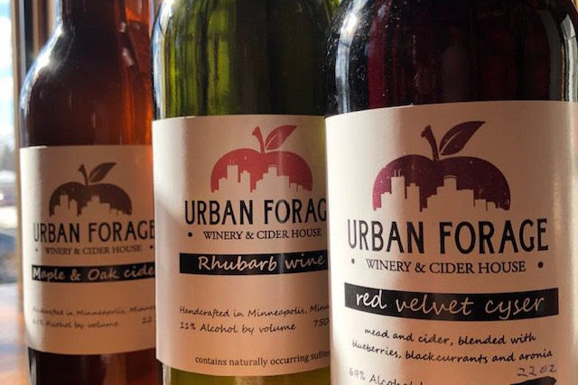 Urban Forage Maple and Oak Cider • Photo via Urban Forage Winery & Cider House