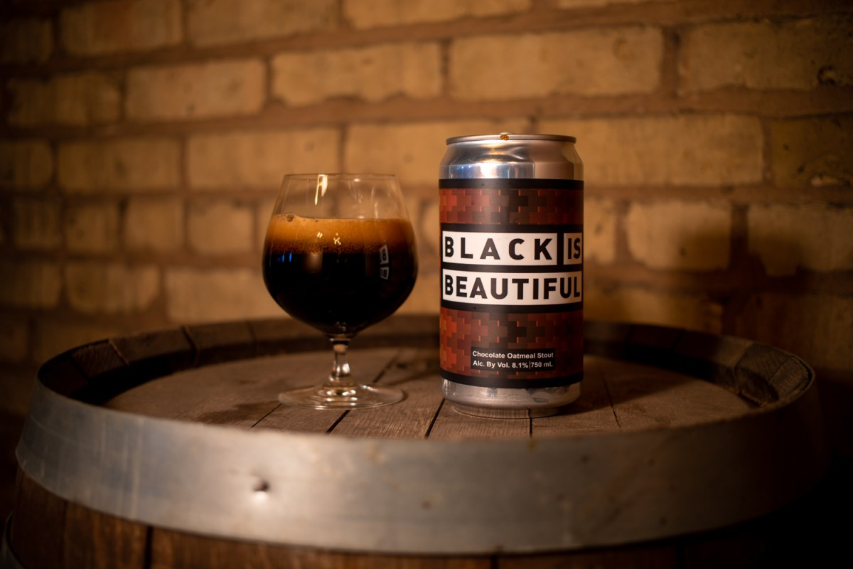 Black is Beautiful brewed by Bad Weather Brewing Company in St. Paul, Minnesota • Photo by Brian Kaufenberg