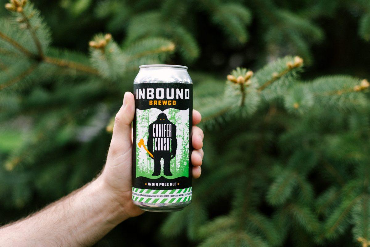 Inbound Conifer Crush Pine • Photo via Inbound BrewCo