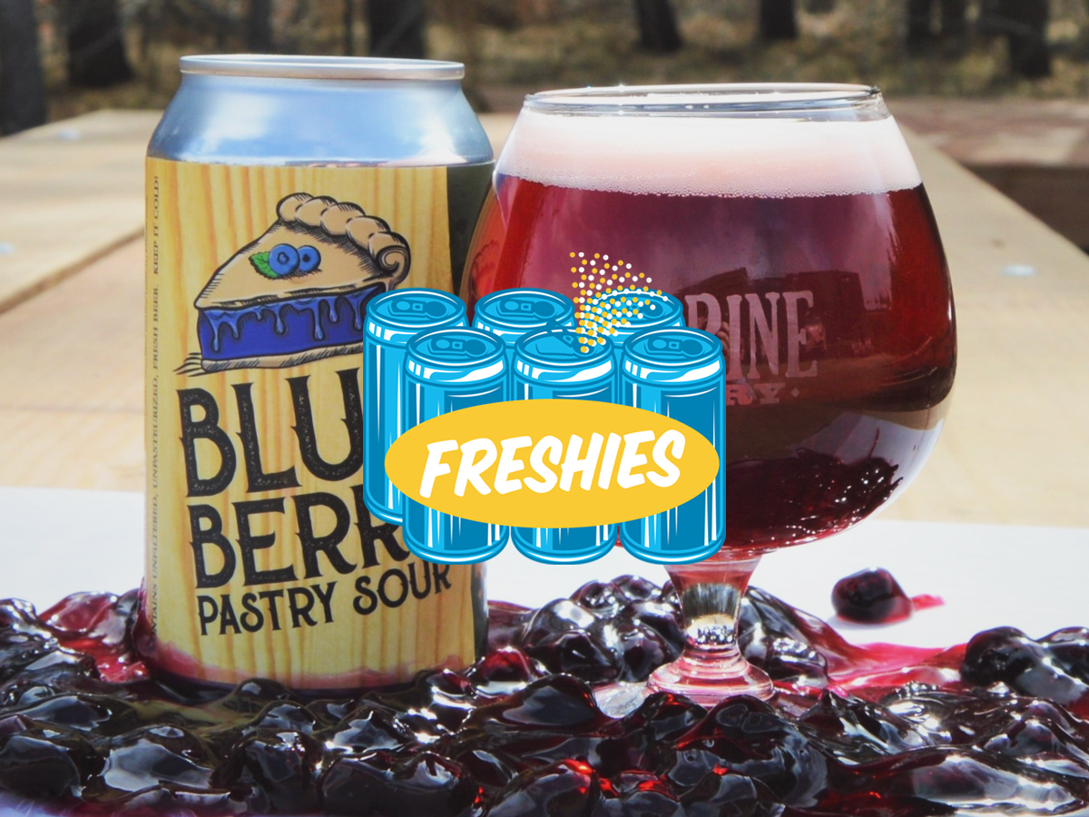 Jack Pine Blueberry Sour Ale • Photo via Jack Pine Brewery