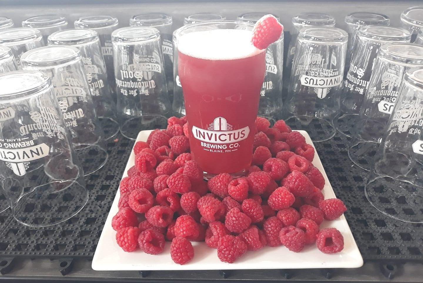 Invictus Sour Razz • Photo via Invictus Brewing