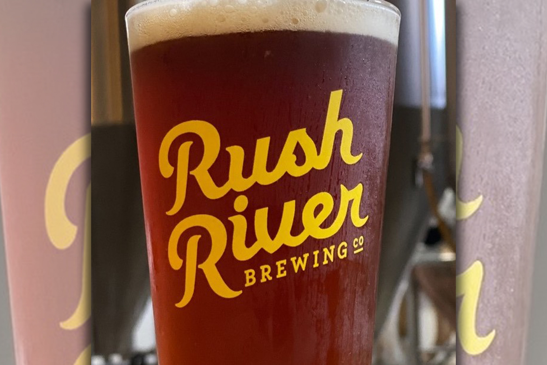Rush River Bière de Mars • Photo via Rush River Brewing Company