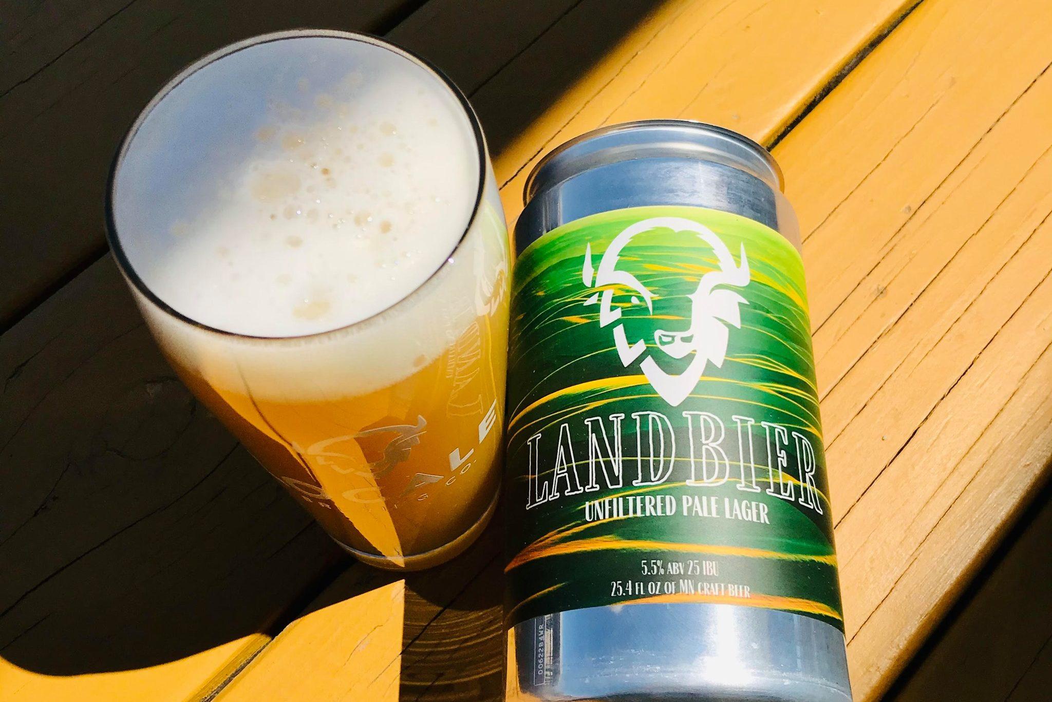 LocAle Landbier • Photo via LocAle Brewing Co.
